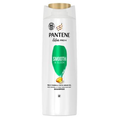 Pantene  Shampoo Smooth And Sleek, Silicone Free
