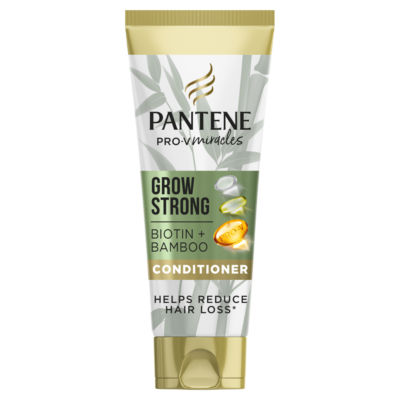 Pantene Grow Strong Conditioner With Bamboo And Biotin