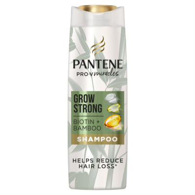 Pantene Grow Strong Shampoo With Bamboo And Biotin