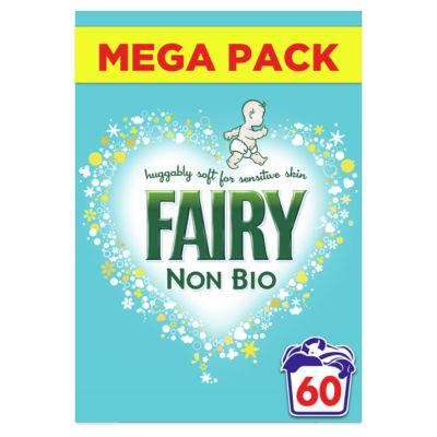 Fairy Non Bio Washing Powder 3.9KG, 60 Washes