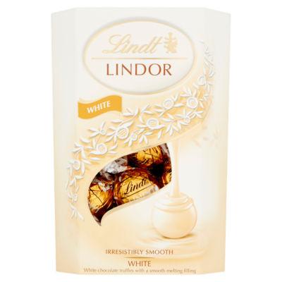 Lindt Lindor White Chocolate Carton