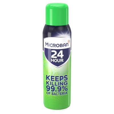 Microban Antibacterial Disinfectant Spray Fresh