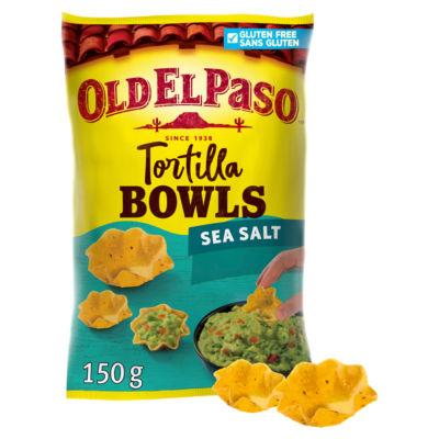 Old El Paso Gluten Free Tortilla Bowls Sea Salt