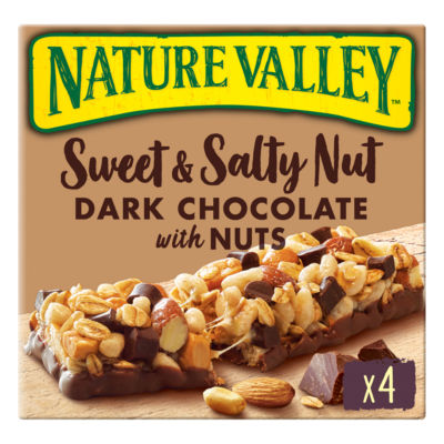Nature Valley Nature Valley Sweet & Salty Nut Dark Chocolate with Nuts Bars