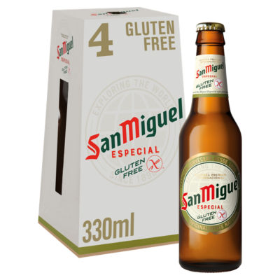 San Miguel Gluten Free Premium Lager Beer