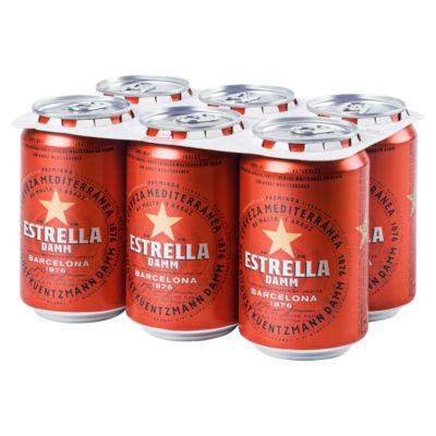 Estrella Damm Lager 6 Pack