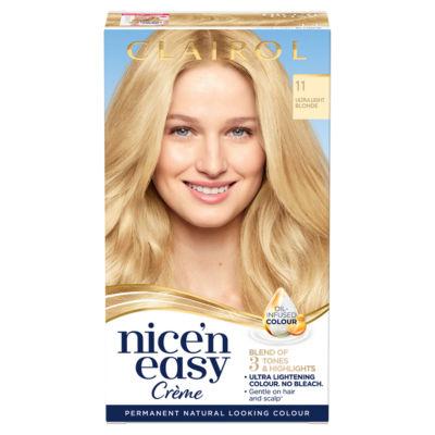 Nice'n Easy Permanent Hair Dye 11 Ultra Light Blonde