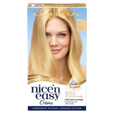 Nice'n Easy Permanent Hair Dye 10 Extra Light Blonde