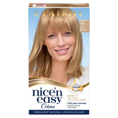Nice'n Easy Permanent Hair Dye 9A Light Ash Blonde