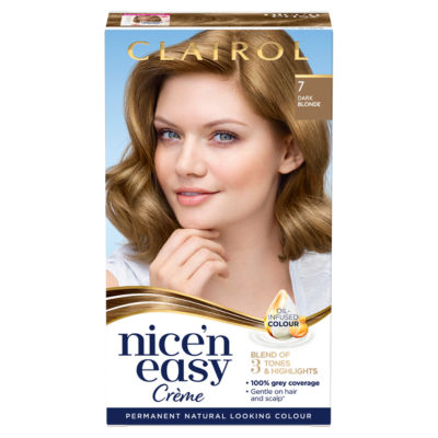 Nice'n Easy Permanent Hair Dye 7 Dark Blonde