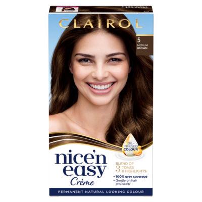 Nice'n Easy Hair Dye 5 Medium Brown
