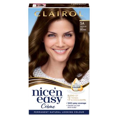 Nice'n Easy Permanent Hair Dye 5A Medium Ash Brown
