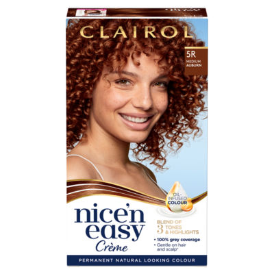 Nice'n Easy Permanent Hair Dye 5R Medium Auburn
