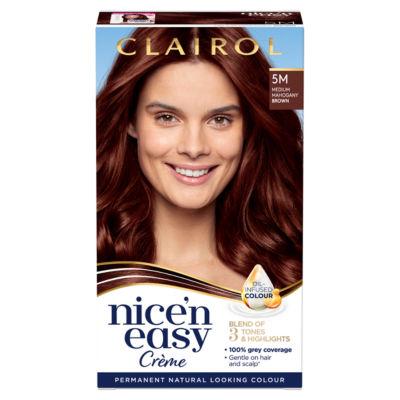Nice'n Easy Permanent Hair Dye 5M Medium Mahogany Brown