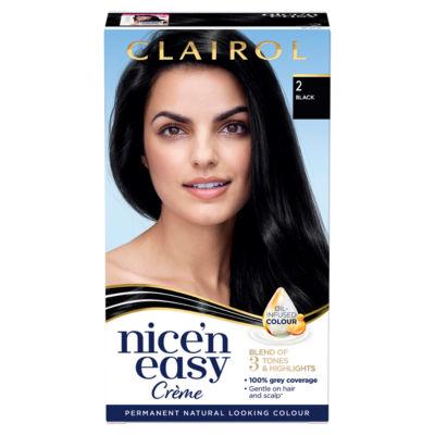 Nice'n Easy Permanent Hair Dye 2 Black