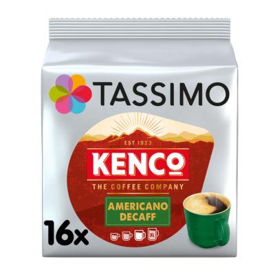 Tassimo 16 Kenco Americano Decaff Coffee Pods