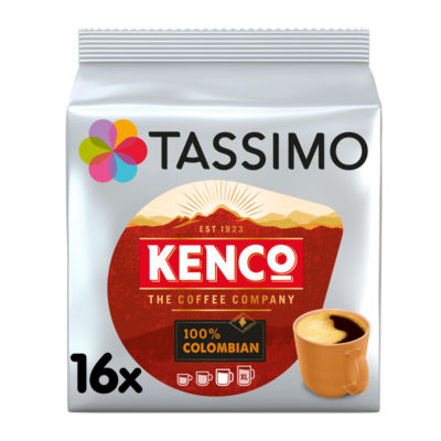 Tassimo 16 Kenco 100% Colombian Pods