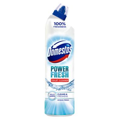 ASDA > Household > Domestos Power Fresh Antibacterial Toilet Cleaner Gel Ocean