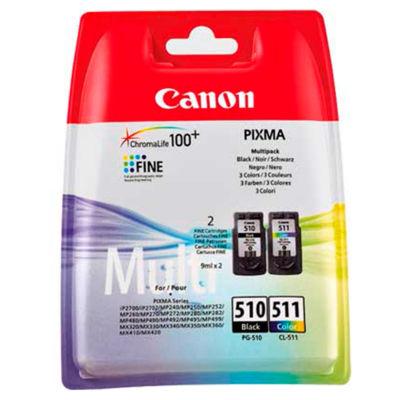 Canon PG510/CL511 Black & Colour Ink Cartridge