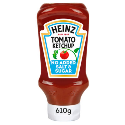 Heinz Tomato Ketchup No Added Sugar & Salt