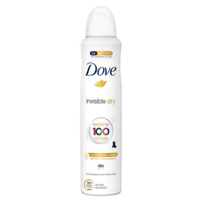 Dove Invisible Dry Aerosol Anti-Perspirant Deodorant