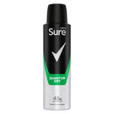 Sure Men Quantum Dry Aerosol Anti-Perspirant Deodorant