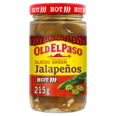 Old El Paso Mexican Sliced Green Jalapeños