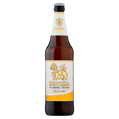 Singha Thai Beer Premium Import Lager Beer
