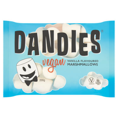Dandies Vegan Vanilla Flavoured Marshmallows