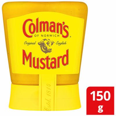 Colman's Original English Squeezy Mustard