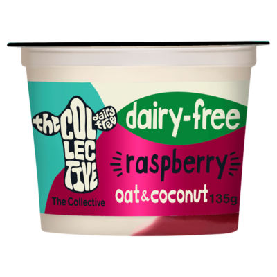 The Collective Plant Raspberry Greek-Style Yoghurt Alternative