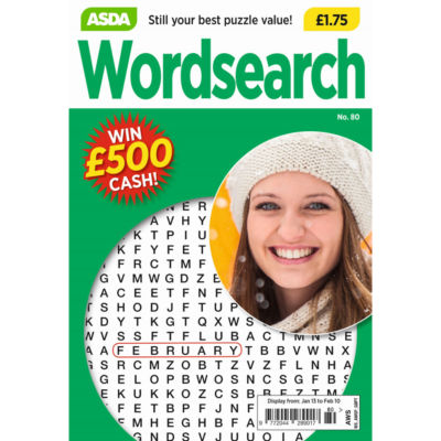 Asda Wordsearch (Out Monthly)