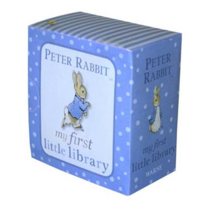 Paperback Peter Rabbit My First Little Library by Beatrix Potter