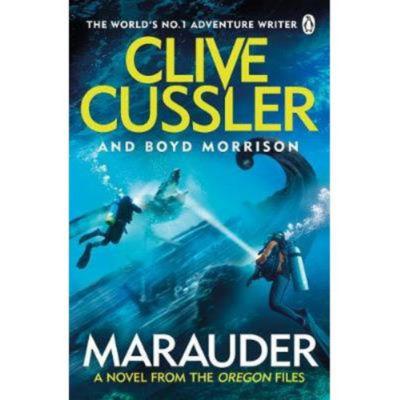 Paperback Marauder by Clive Cussler & Boyd Morrison