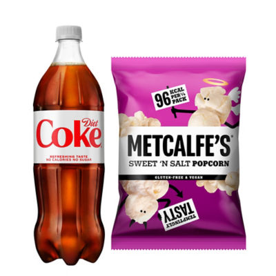 Diet Coke & Sweet 'n Salt Popcorn Bundle