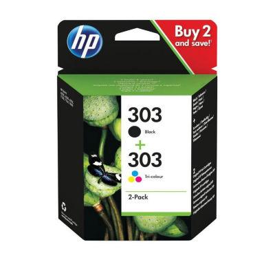 HP 303 Black & Colour Ink Cartridge