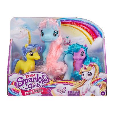 Sparkle Girlz Unicorn Set Of 3 (3+ Years)