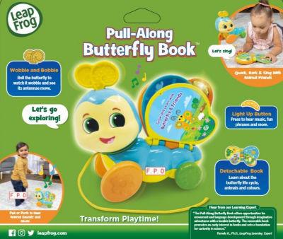 LeapFrog Pull Along Butterfly Book