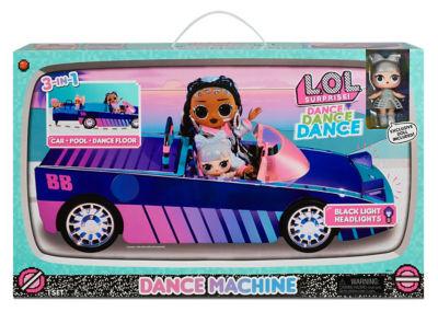L.O.L. Surprise Dance Machine Car with Exclusive Doll