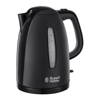 Russell Hobbs Black Textures Kettle 1.7L