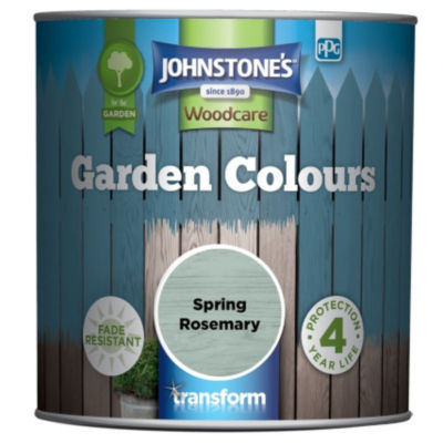 Johnstone's Garden Colours Fade Resistant Woodcare Spring Rosemary