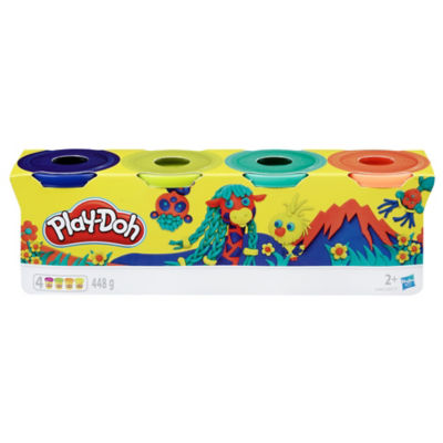 Play-Doh Pack of 4-Ounce Cans (2+ Years)