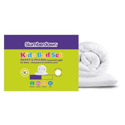 Slumberdown Kids Bed Set - 7.5 Tog Duvet & Pillows