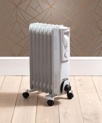 Eurosonic 1500W White Oil Heater