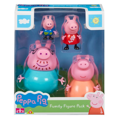 Peppa Pig Family Pack of Figures (3+ Years)