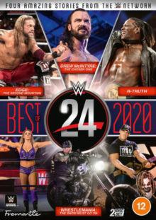 DVD WWE: 24  Best Of 2020