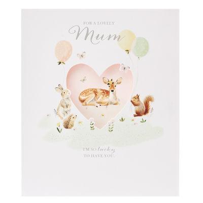 George Home Woodland Characters Mum Birthday Card