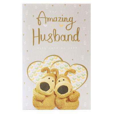 Boofle Husband Anniversary Card