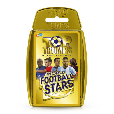 Top Trumps World Football Stars Card Game  (3+ Years)