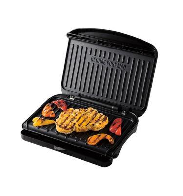 George Foreman Medium Fit Grill - Black